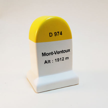 Cycling Souvenirs Mont Ventoux Road Marker Model Multi One Size