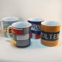 Cycling Souvenirs Retro Team Mugs (Set of 4)