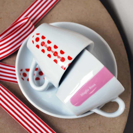 Cycling Souvenirs Grand Tour Espresso Set (Set of 4)