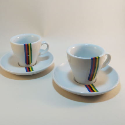 Cycling Souvenirs World Championship Espresso Cups (Set of 2)