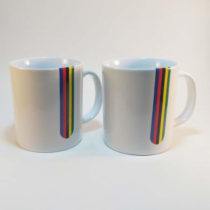 Tasses Cycling Souvenirs Champion du monde (lot de 2)