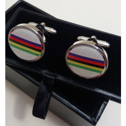 Cycling Souvenirs World Championship Cufflinks