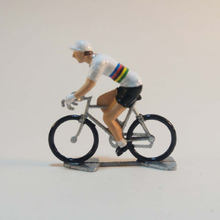 Cycling Souvenirs Mini Cyclist World Champion Stripes