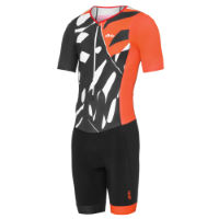 Body triathlon dhb Blok Palm (manica corta)
