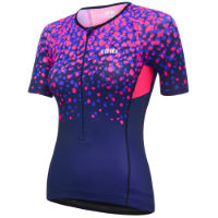 dhb Blok Womens Tri Short Sleeve Top - Blossom