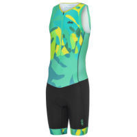 dhb Blok Sleeveless Tri Suit - Palm Camo