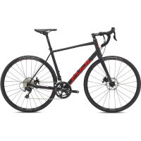 Fuji Sportif 1.3 Disc Road Bike Black/Red 58cm Stock Bi
