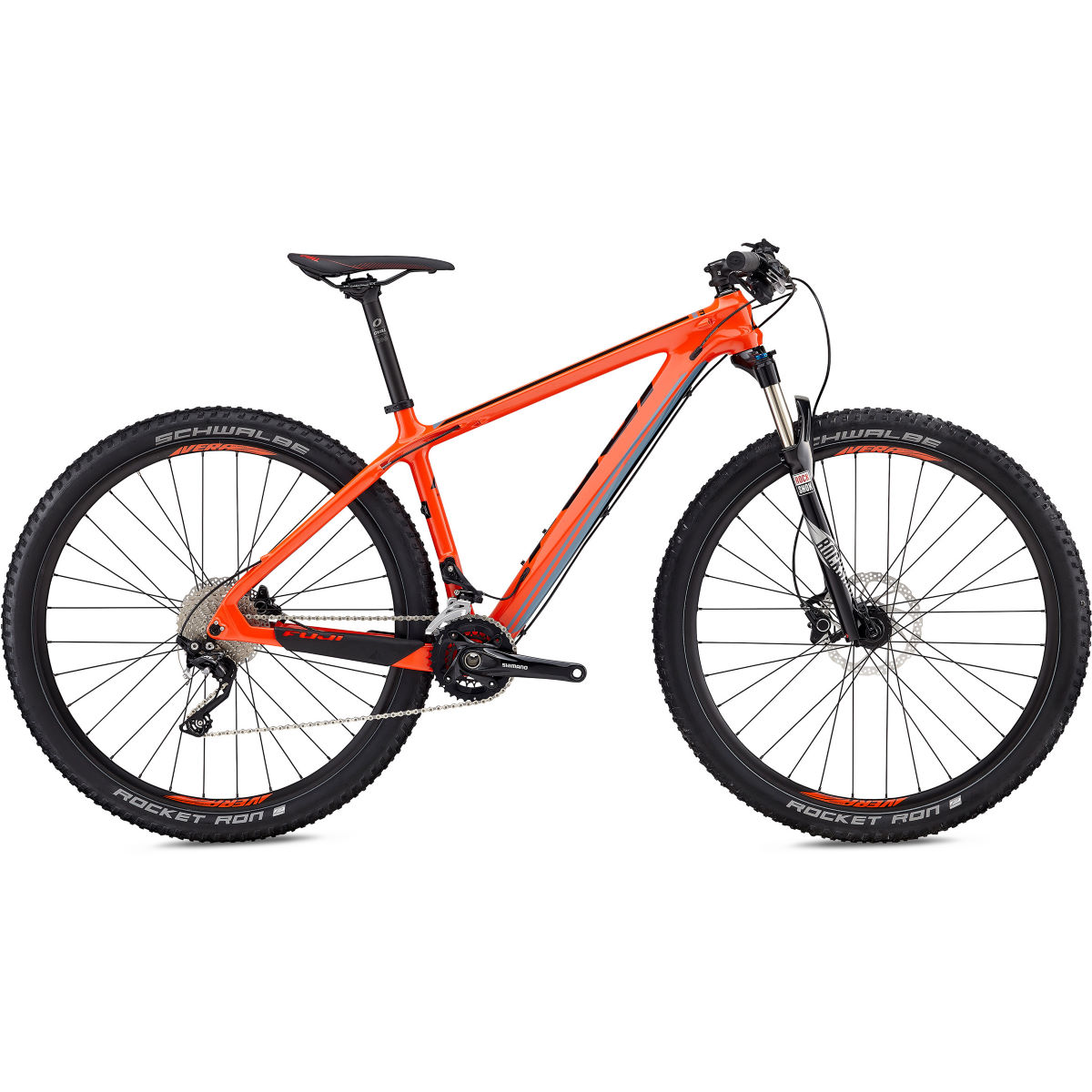 VTT Fuji SLM 29 2.7 (2018) - 21'' Stock Bike Orange VTT semi-rigides