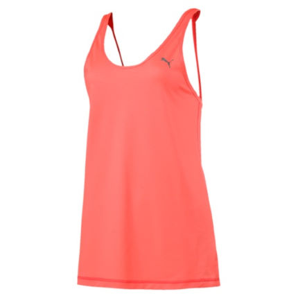 Puma Women's Basic Mesh Layer Gym Tank