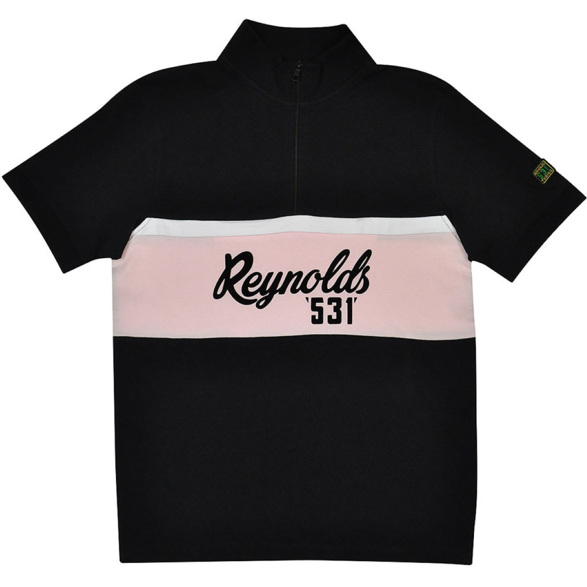 T-shirt Reynolds Clothing 531 Banner Logo - S Black / Pink /White