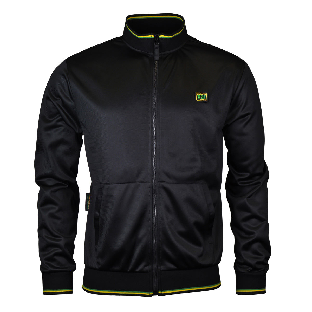 Reynolds Clothing 531 Tipped Full Zip Track Top - Chaquetas