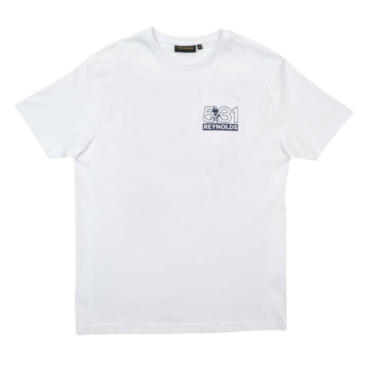 T-Shirt Reynolds Clothing Travel Light (imprimé) - XL Blanc T-shirts