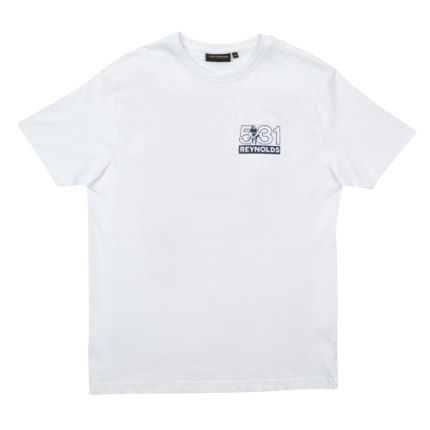 T-Shirt Reynolds Clothing Travel Light (con stampa)