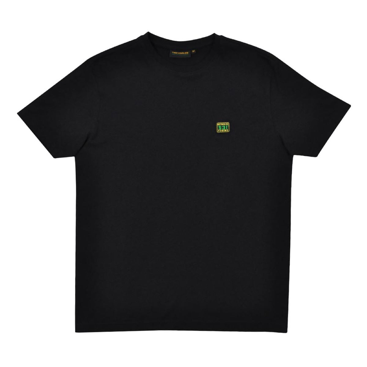 T-shirt Reynolds Clothing 531 Badge - S Noir T-shirts