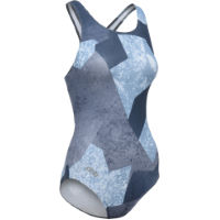 dhb Blok Womens Muscleback Swimsuit - Geo Camo