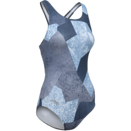 dhb Blok Women's Muscleback Swimsuit - Geo Camo