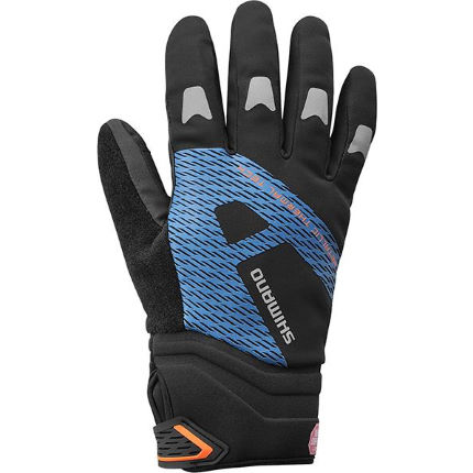 Shimano Windstopper Thermal Reflective Gloves