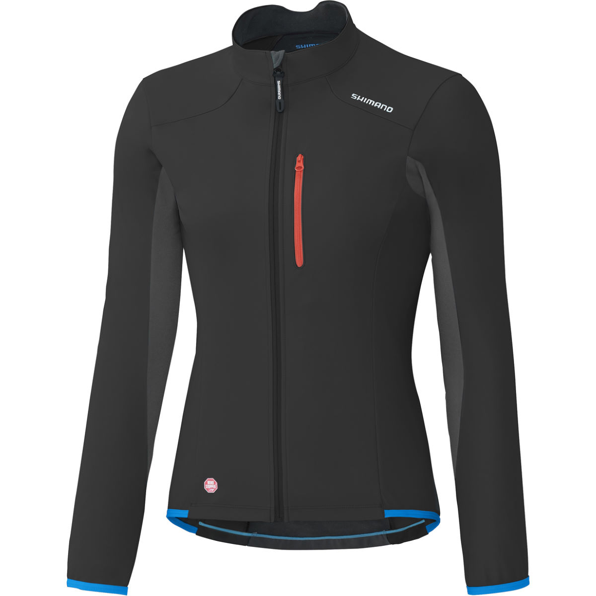 Veste Femme Shimano Windstopper - Medium Noir Coupe-vents vélo
