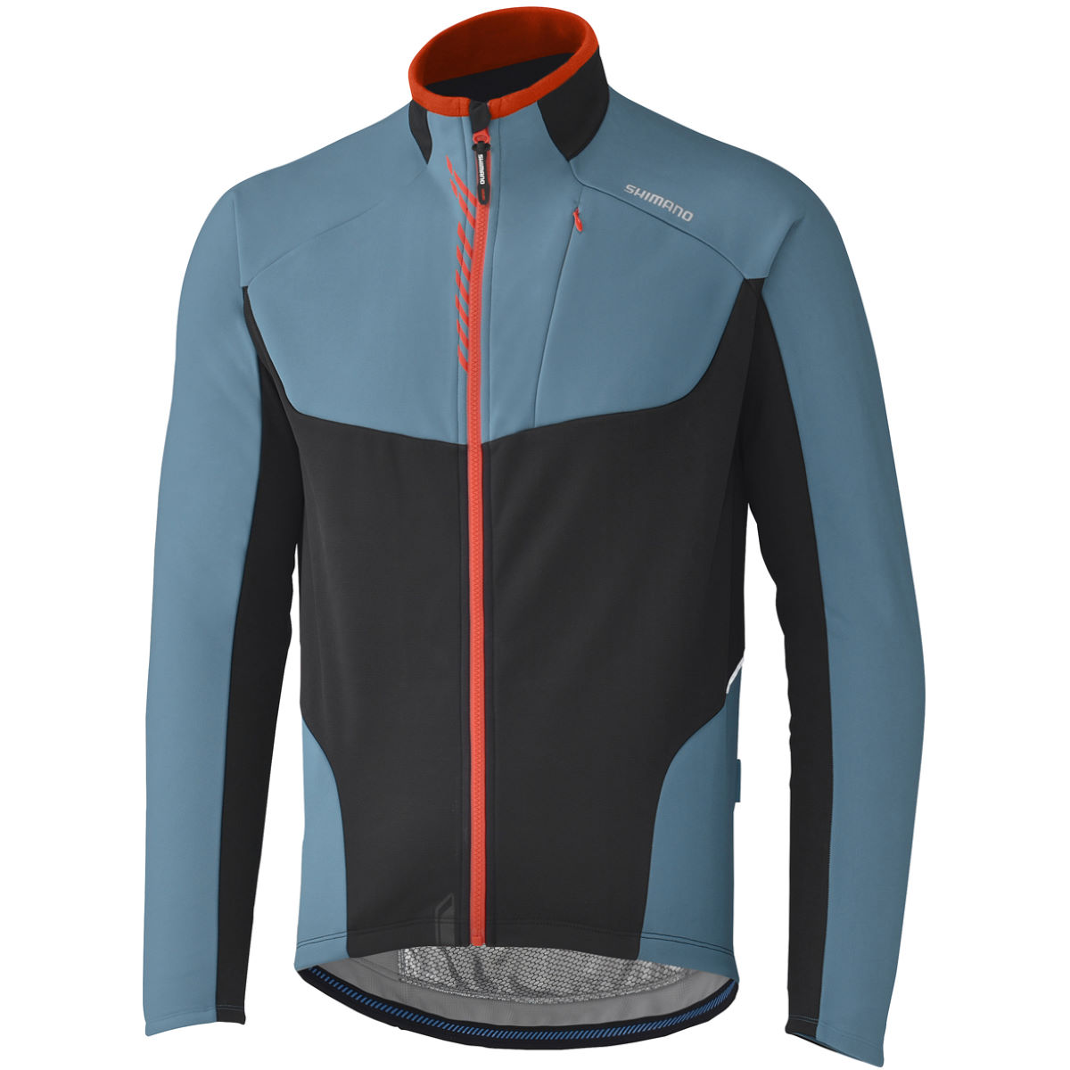Veste Shimano Performance Windbreak - Small Bleu Coupe-vents vélo