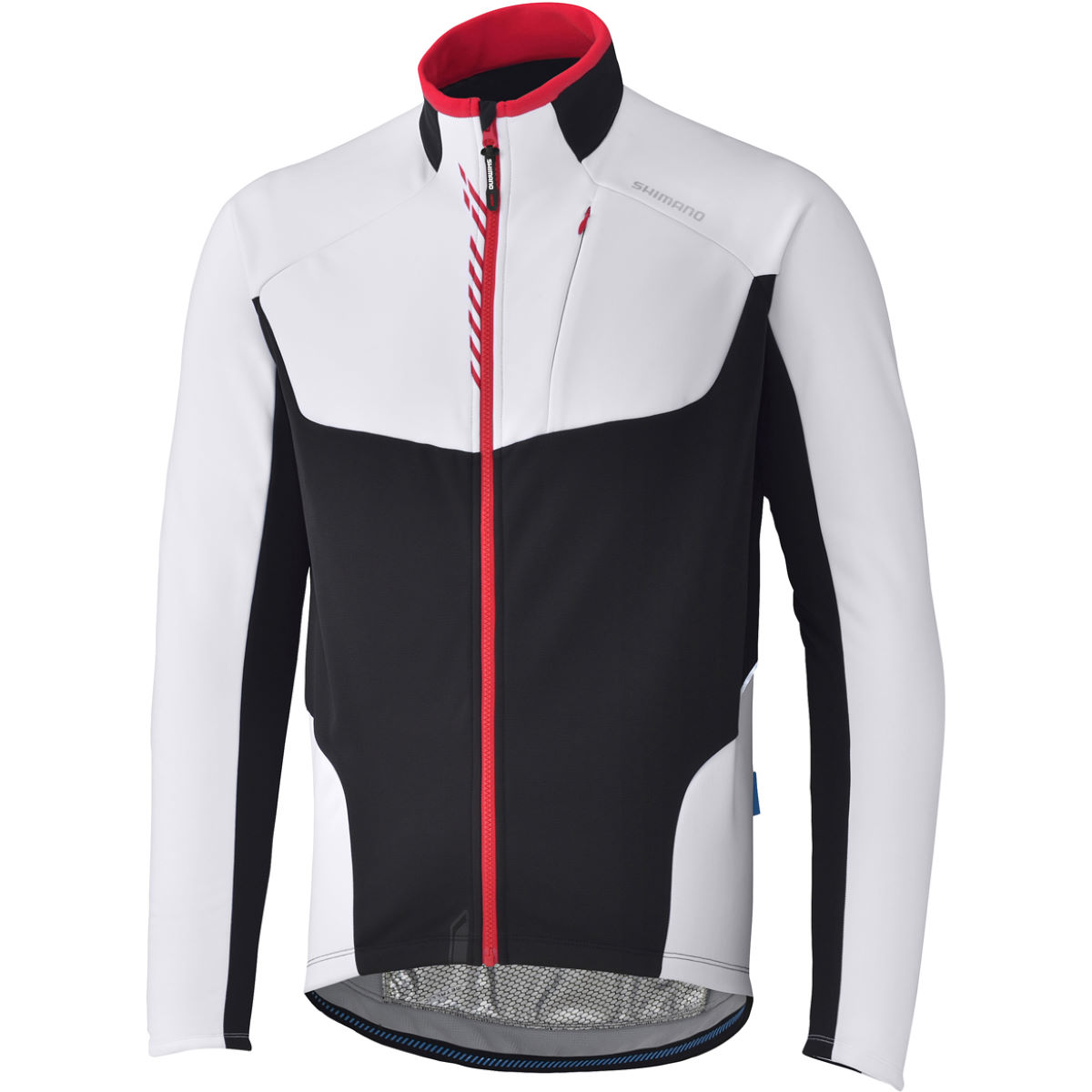 Veste Shimano Performance Windbreak - Small Blanc Coupe-vents vélo