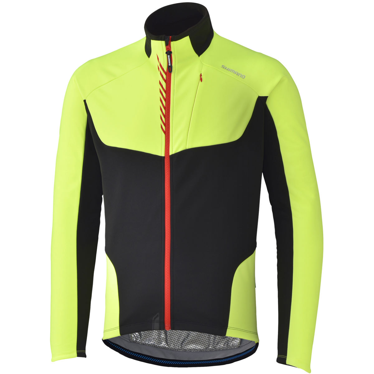Veste Shimano Performance Windbreak - Small Jaune Coupe-vents vélo