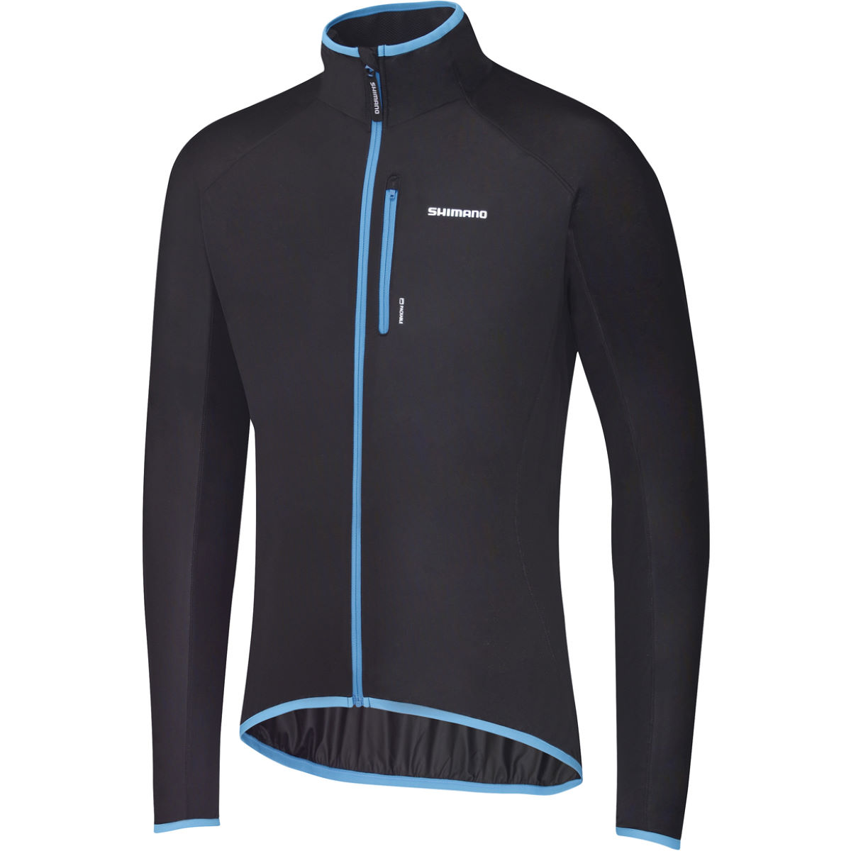 Veste Shimano Windbreak (extensible) - Small Noir/Bleu Vestes