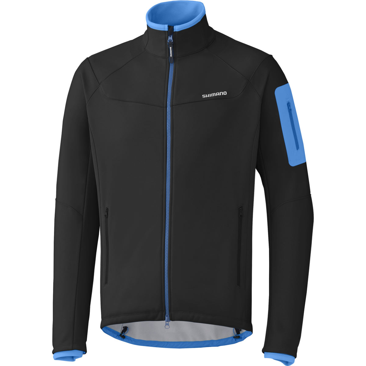 Veste Shimano Softshell (hiver) - Small Noir Coupe-vents vélo