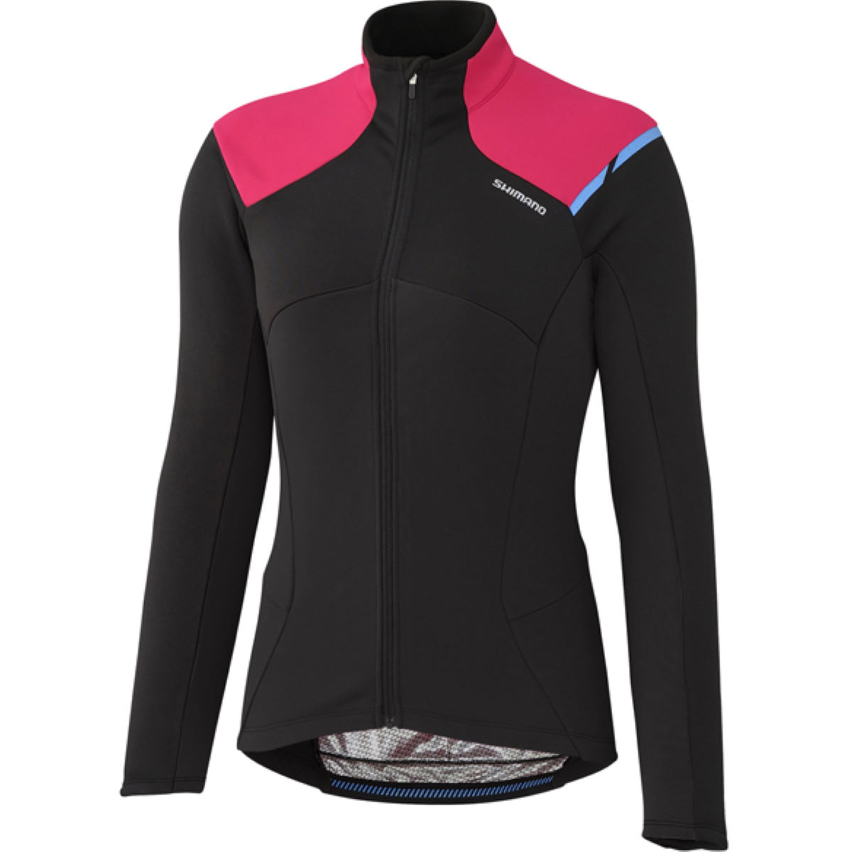 Maillot Femme Shimano Thermal (hiver) - Large Noir