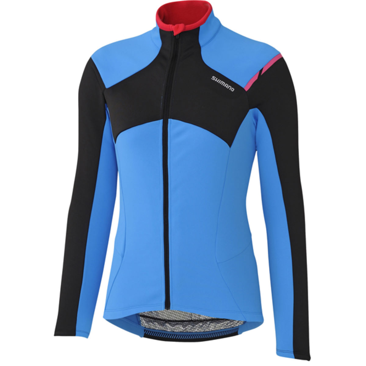 Maillot Femme Shimano Thermal (hiver) - Large Bleu
