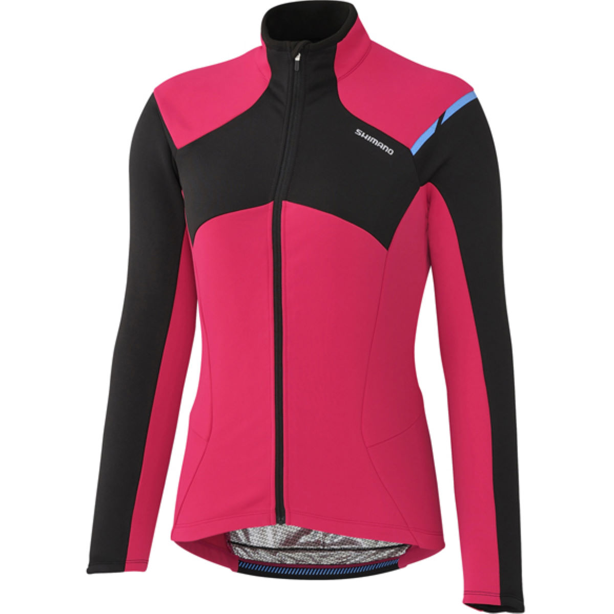 Maillot Femme Shimano Thermal (hiver) - Large Rose