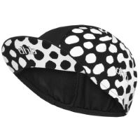 dhb Blok Cycling Cap - Polka Black/White S/M