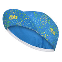 dhb Blok Cycling Cap - Blossom Blue/Yellow S/M