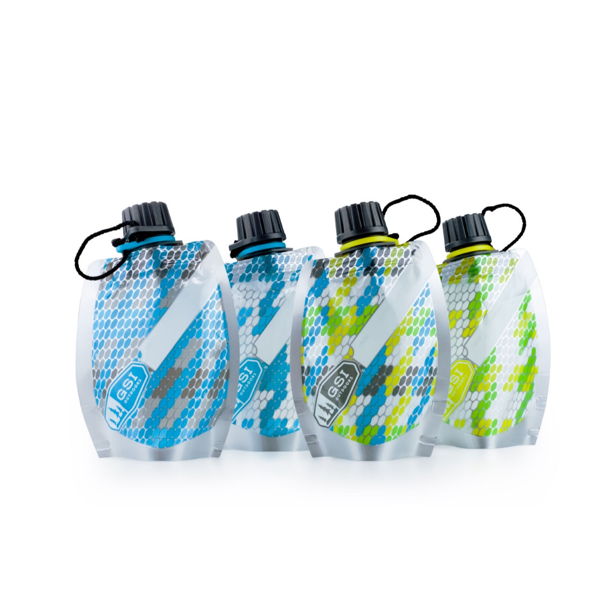 GSI Outdoors Soft Sided Travel Bottle Set - Termos y cantimploras