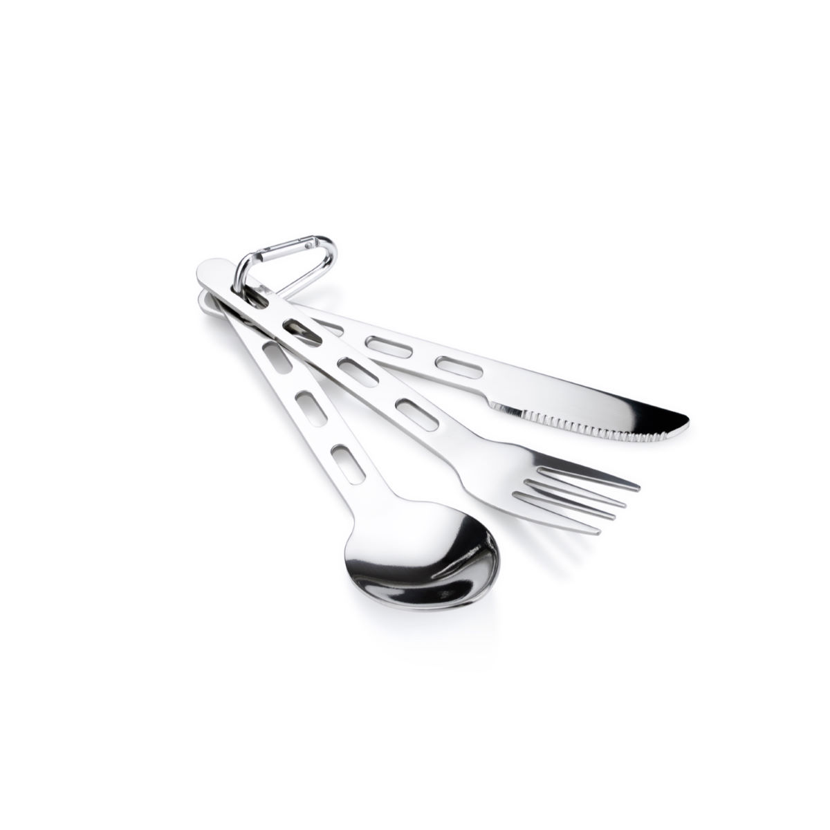 GSI Outdoors Glacier Stainless Cutlery Set - Cubiertos