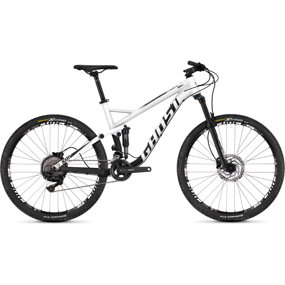 Ghost Kato 3.7 (2018) Full Suspension Bike - Bicicletas de MTB de doble suspensión