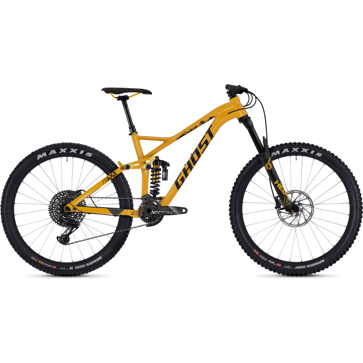 Ghost FR AMR 8.7 (2019) Full Suspension Bike - Bicicletas de MTB de doble suspensión