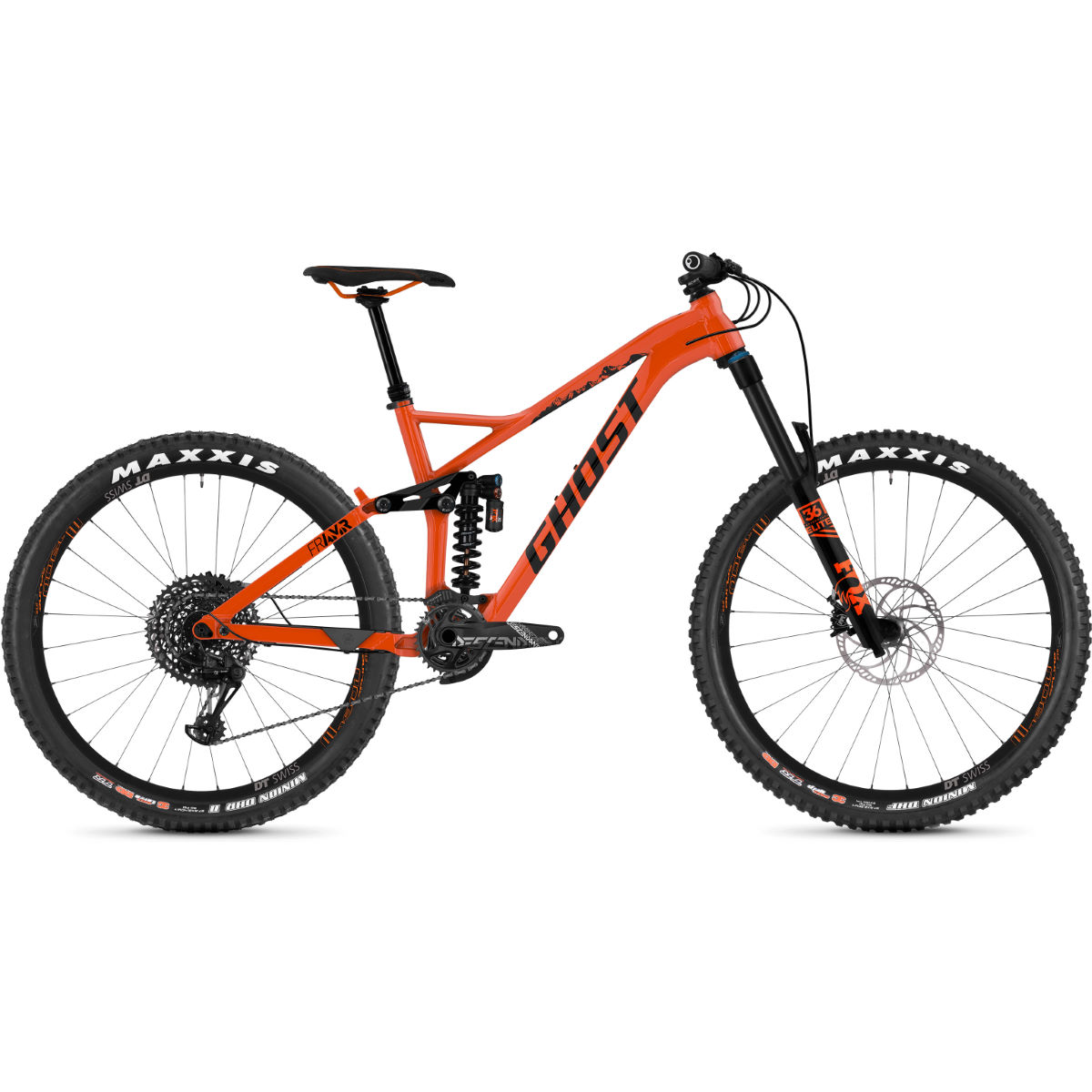 Ghost FR AMR 6.7 (2019) Full Suspension Bike - Bicicletas de MTB de doble suspensión