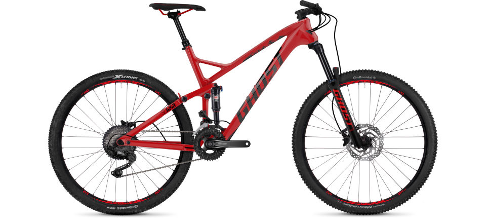 Wiggle | Ghost Slamr 3.7 (2018) Full Suspension Bike | Full ...