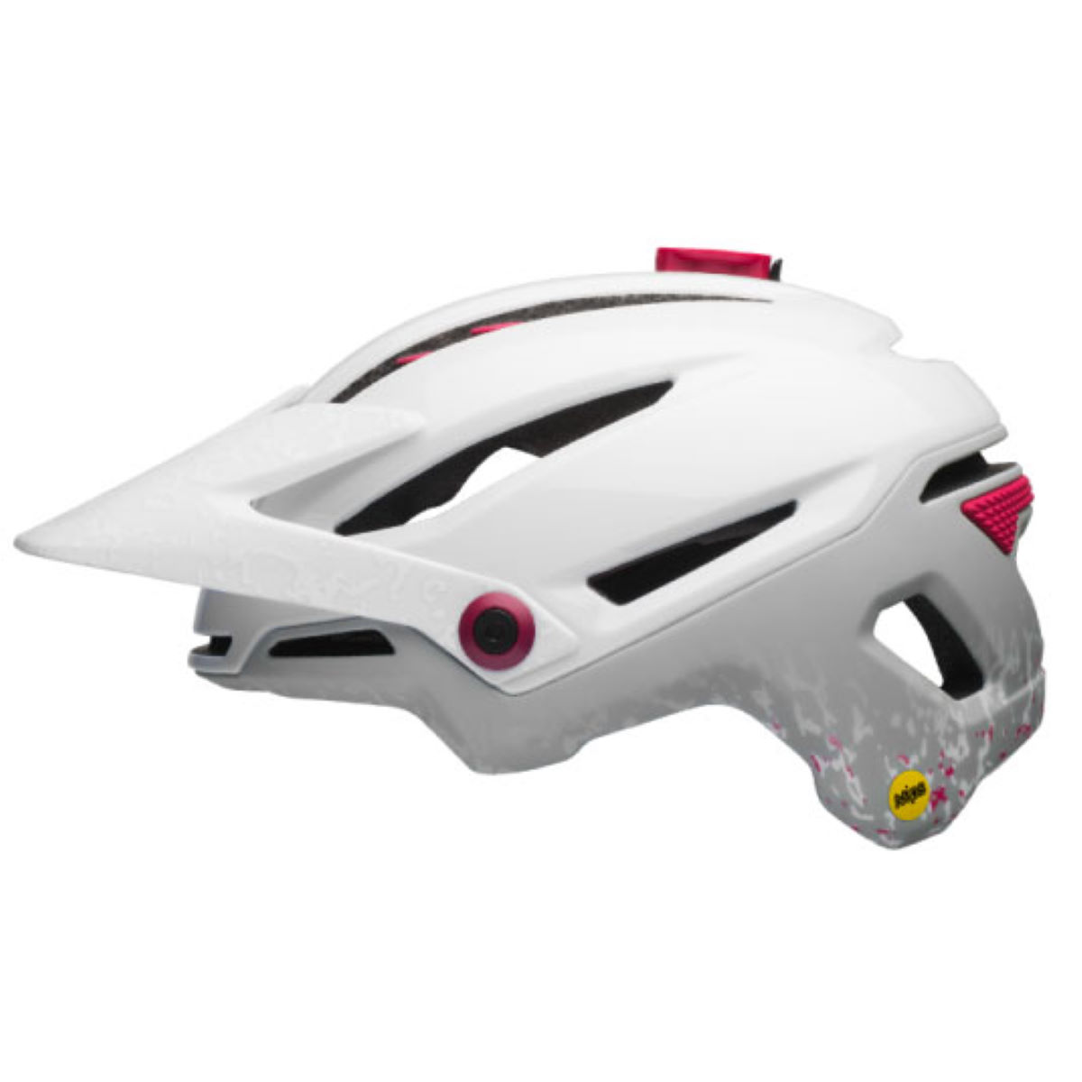 Casque Femme Bell Sixer MIPS - S Matte White/Cherry S Casques