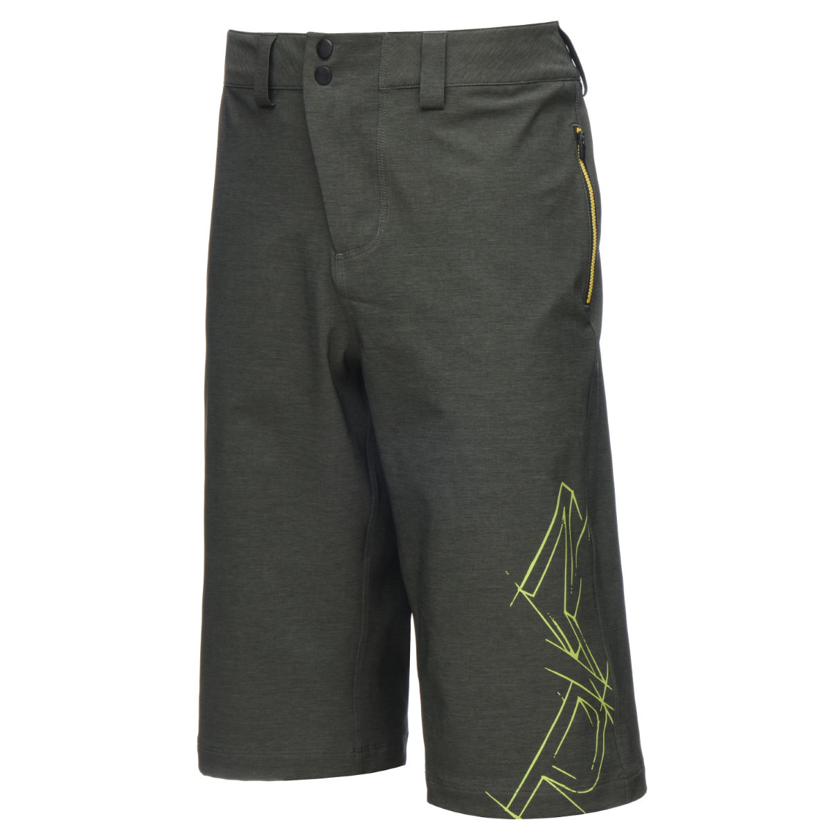 Short Nukeproof Blackline NP - Large Kaki Shorts amples