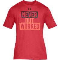 Under Armour UA Never Out Worked sportshirt (korte mouwen)