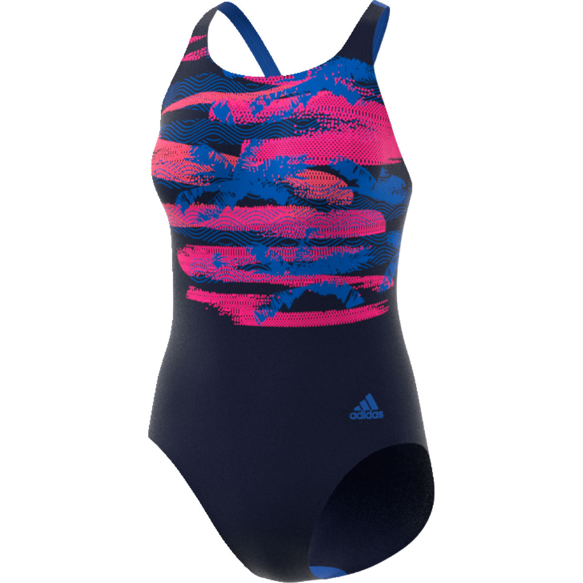 Maillot de bain Femme adidas Fitness Training Placed Print - 34''