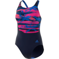 adidas Womens Fitness Training Suit Placed Print