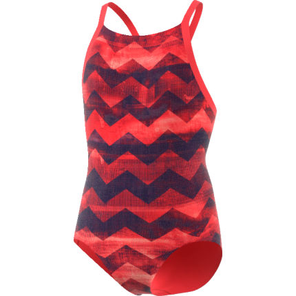 adidas Girl's Takedown Allover Printed Swimsuit