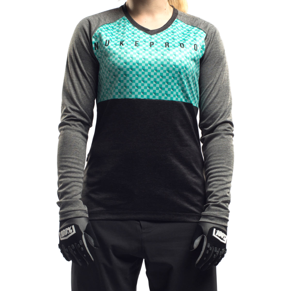 Maillot Femme Nukeproof Blackline Corp (manches longues) - Small
