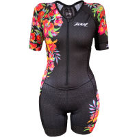 Zoot Womens Aloha LTD Tri Aero Short Sleeve Racesuit