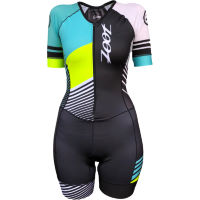 Zoot Womens Team LTD Tri Aero Short Sleeve Racesuit