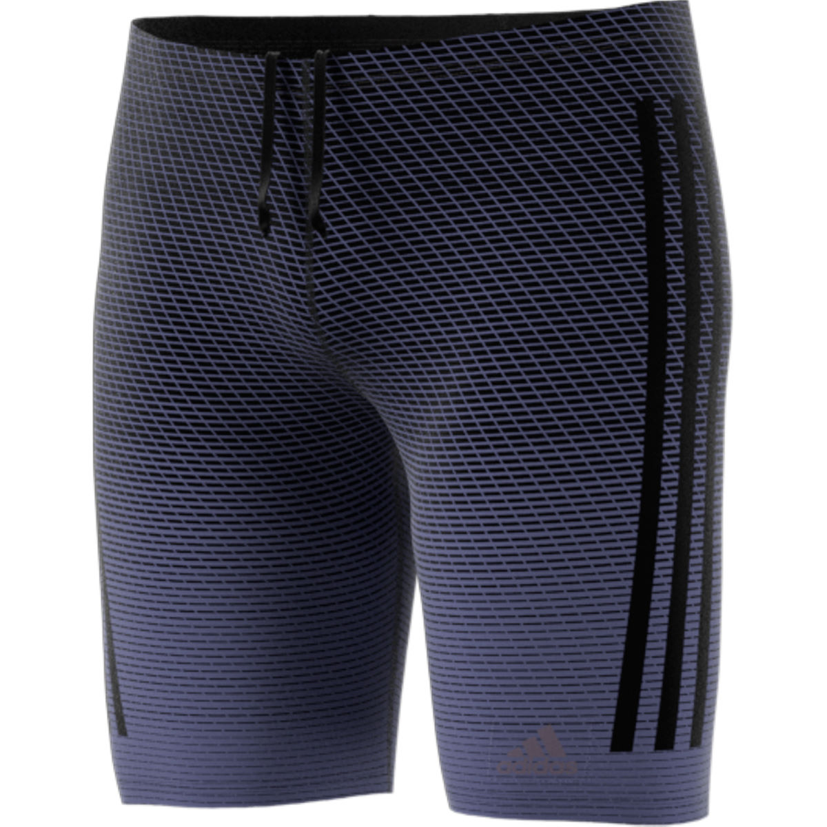 Jammer adidas Performance 3 Stripe (imprimé) - 28'' Raw Indigo/Black
