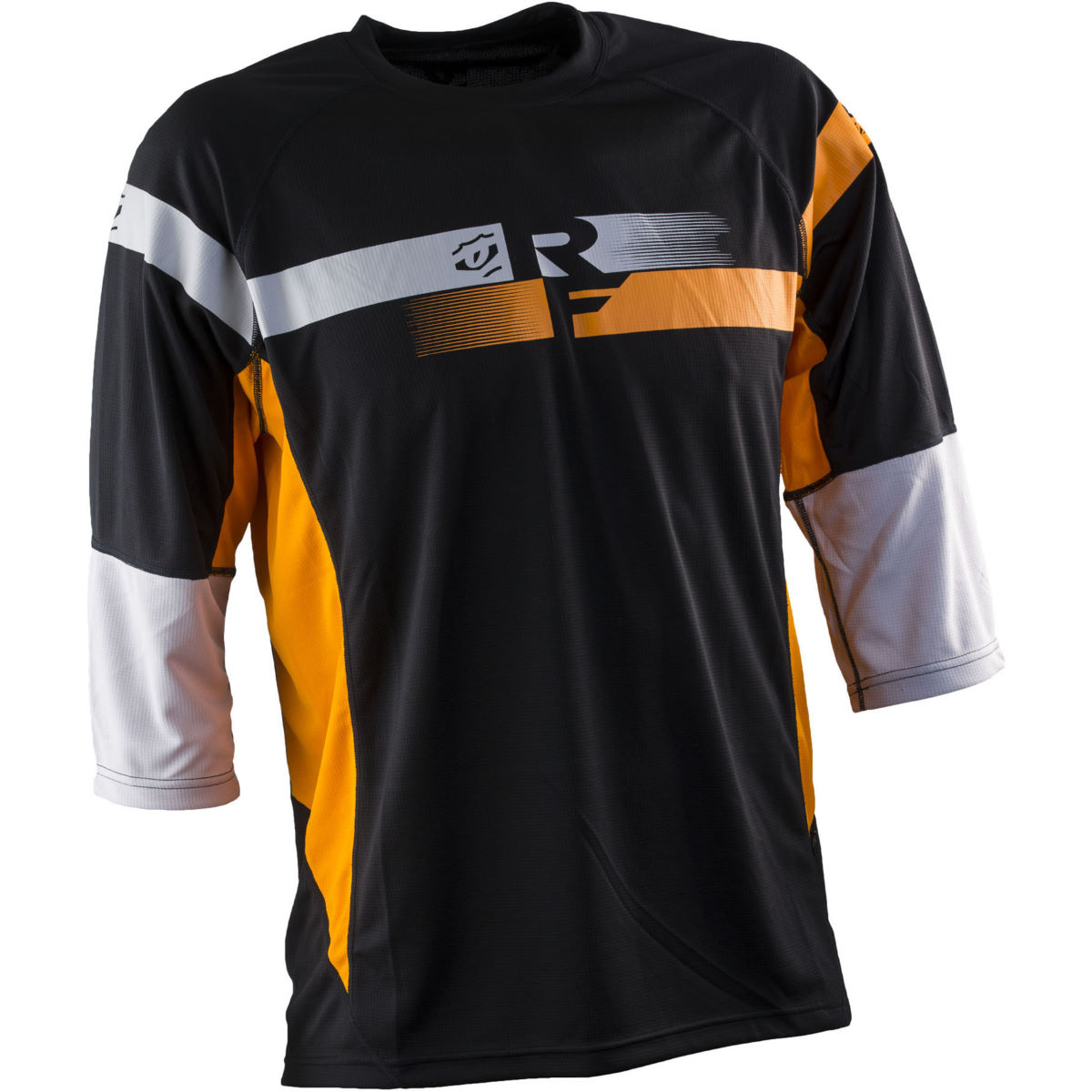 Maillot Race Face Indy (manches 3/4, 2015) - M Orange