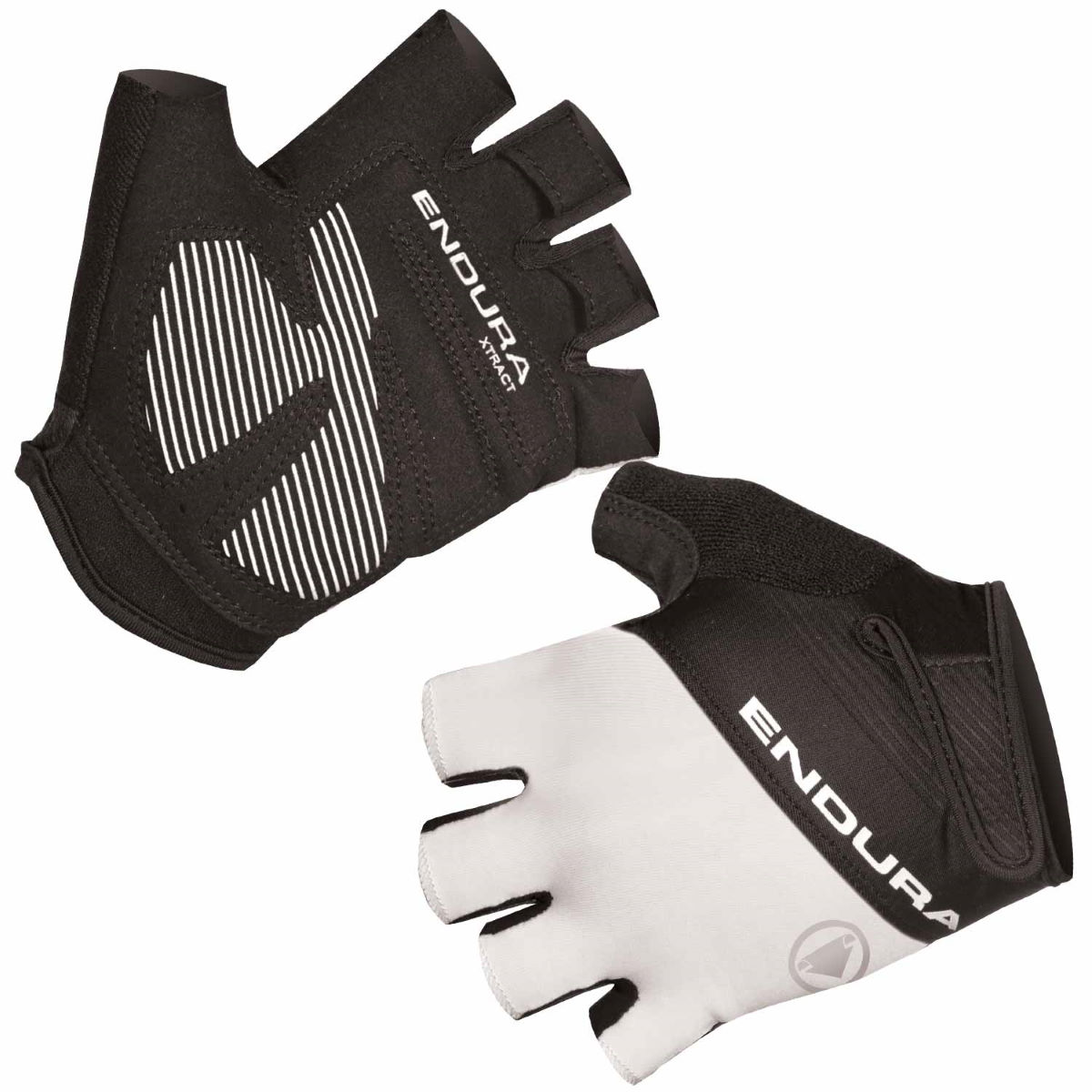 Endura Women's Xtract Mitts II - XL White | Short Finger Gloves